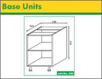 DIY Kitchen base cabinets